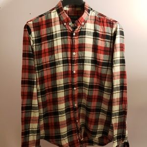 Zara Man plaid shirt